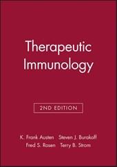 Therapeutic Immunology