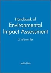 Handbook of Environmental Impact Assessment, 2 Volume Set