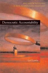 Democratic Accountability
