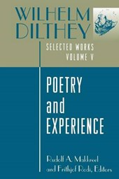 Wilhelm Dilthey: Selected Works, Volume V