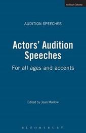 Actors' Audition Speeches