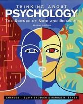 Thinking About Psychology