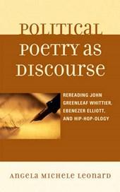 Political Poetry as Discourse