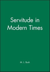 Servitude in Modern Times