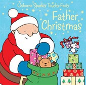 Father Christmas Sparkly Touchy-Feely