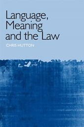 Language, Meaning and the Law