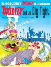 Asterix (07) asterix and the big fight (english)