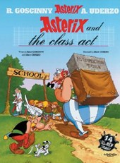 Asterix (32) asterix and the class act (english)
