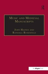 Music and Medieval Manuscripts