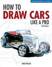 How to Draw Cars Like a Pro, 2nd Edition