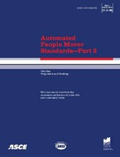 Automated People Mover Standards Pt. 2; ANSI/ASCE/T&DI 21.2-08