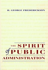 The Spirit of Public Administration