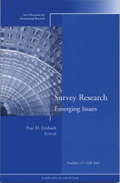 Survey Research Emerging Issues