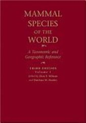 Mammal Species of the World - A Taxonomic and Geographic Reference