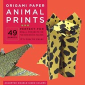 Origami paper animal prints : 49 sheets