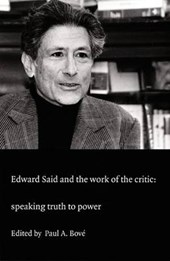 Edward Said and the Work of the Critic