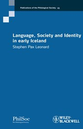 Language, Society and Identity in early Iceland