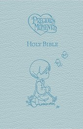ICB, Precious Moments Holy Bible, Leathersoft, Blue