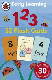 Ladybird Early Learning: 123 flash cards