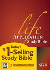 NIV Life Application Study Bible, Second Edition (Red Letter, Hardcover, Indexed)