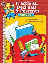 Fractions, Decimals & Percents, Grade 5