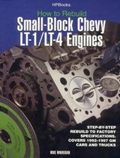 How To Rebuild Small-block Chevy Lt-1/lt-4 Engines