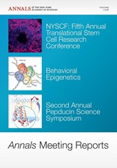 Annals Meeting Reports - NYSCF Fifth Annual Translational Stem Cell Research Conference