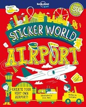 Lonely planet kids Sticker world airport