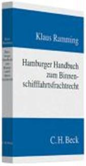 Hamburger Handbuch zum Binnenschifffahrtsfrachtrecht