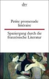 Spaziergang durch die französische Literatur. / Petite promenade littéraire