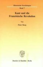 Kant und die Französische Revolution
