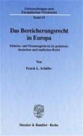 Das Bereicherungsrecht in Europa