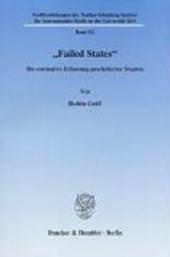 """""""Failed States"""""""