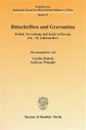 Bittschriften und Gravamina