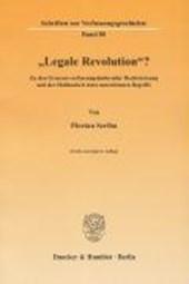 """Legale Revolution""?"