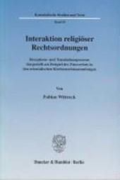 Interaktion religiöser Rechtsordnungen