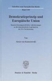 Demokratieprinzip und Europäische Union