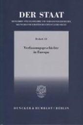 Der Staat. Verfassungsgeschichte in Europa
