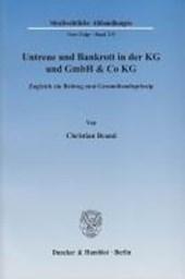 Untreue und Bankrott in der KG und GmbH & Co KG