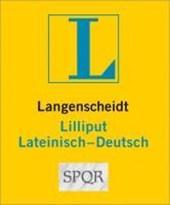 Langenscheidt Lilliput Lateinisch. Lateinisch-Deutsch