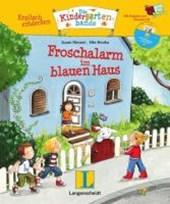 Englisch entdecken: Die Kindergartenbande. Froschalarm im blauen Haus. SuperBuch