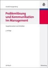 Problemloesung Und Kommunikation Im Management
