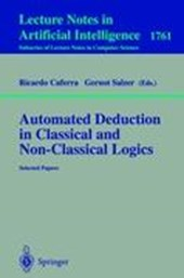 Automated Deduction in Classical and Non-Classical Logics