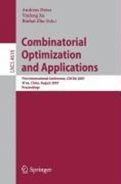 Combinatorial Optimization and Application
