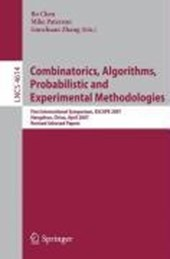 Combinatorics, Algorithms, Probabilistic and Experimental Methodologies