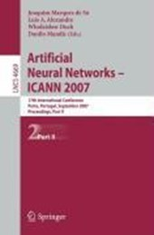 Artificial Neural Networks - ICANN 2007