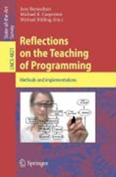 Reflections on the Teaching of Programming