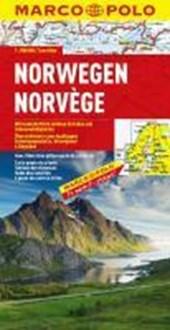 MARCO POLO Länderkarte Norwegen 1 :