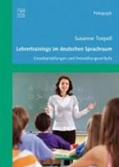 Lehrertrainigs im deutschen Sprachraum