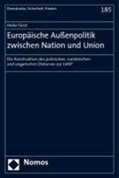 Europäische Außenpolitik zwischen Nation und Union